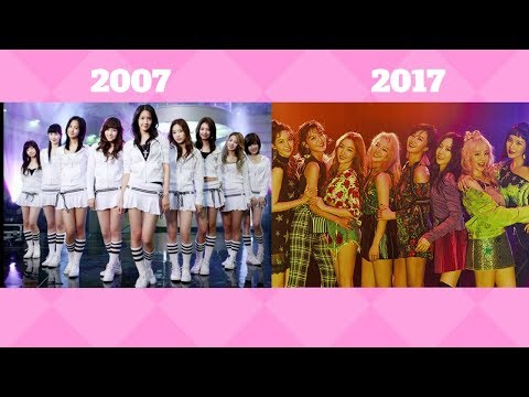 10 YEARS OF SNSD IN 10 MINUTES