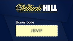 What is the promo code for WILLIAM HILL?