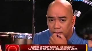 Repeat youtube video WALLY BAYOLA AND EB BABE YOSH SCANDAL NEWS
