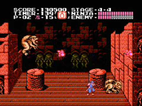 Ninja Gaiden Nes Boss Run Youtube