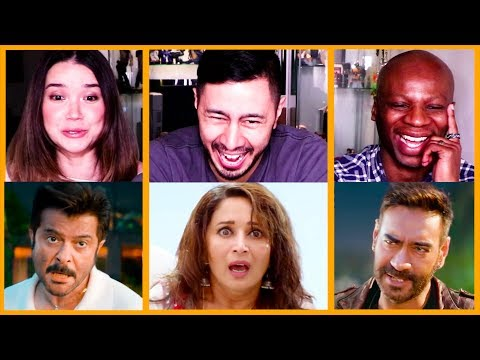TOTAL DHAMAAL | Ajay | Anil | Madhuri | Trailer Reaction!