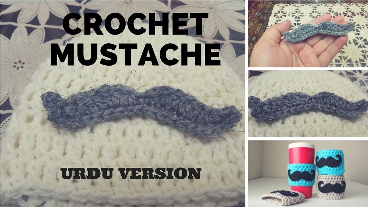 Crochet mustache urdu version youtube crochet mustache urdu version bankloansurffo Images