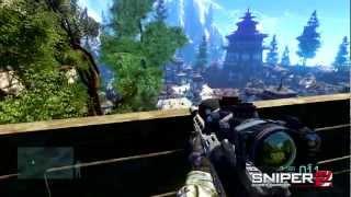 New Sniper Ghost Warrior 2 gameplay test.