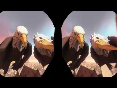 Eagle Flight - 3D Anaglyph - Gameplay Deutsch - Story Teil 1 |