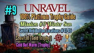 Unravel Platinum Trophy Guide Mission #9 Winter Sun + Snowfall Gold Trophy