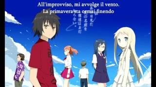 anohana aoi shiori italian version