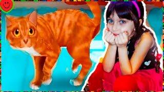 МИЛЫЙ КОТЕНОК🏠 Мой любимый кот Видео Игра мультфильм для детей Мультик про котят CatHotel Валеришка