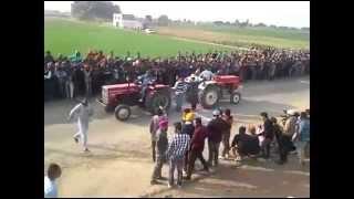 Swaraj 855 vs Massey Ferguson 241 Tractor Fight !