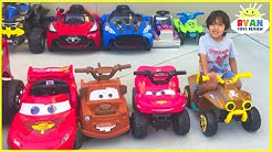 Ryan's Power Wheels Collections Ride On Car!