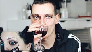 Следвам урок за грим + домашно вино