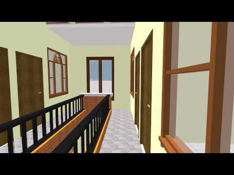 Model Rumah Minimalis Ukuran 7x16 rumah kontrakan 20 kamar 2 lantai full view youtube