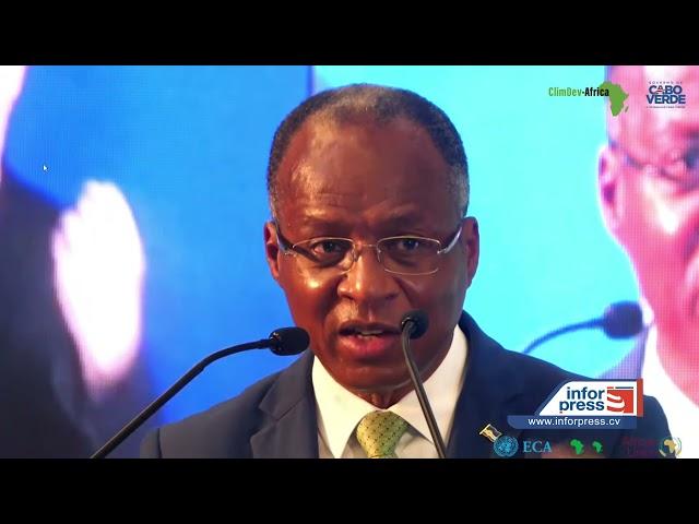 """Primeiro ministro pede """"voz forte, clara e unificada"""" da África sobre as mudanças climáticas"""