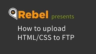 How to Upload HTML/CSS to FTP