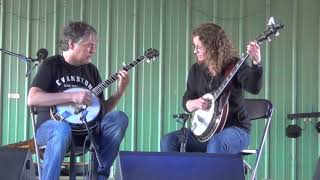 Blackberry Blossom, played by Béla Fleck and BB Bowness