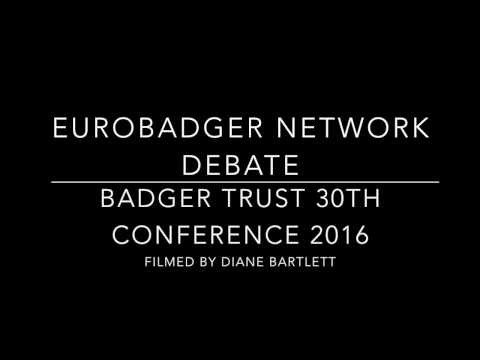 Eurobadger Network Debate - Impact of Brexit on Wildlife Protection. Badger Trust Conference 2016