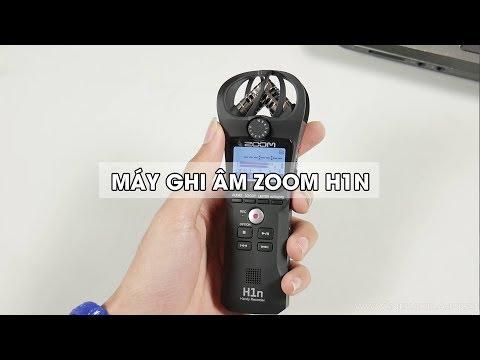 Mở Hộp & Hướng Dẫn Sử Dụng Máy Ghi âm Zoom H1n : Nâng Cấp Nhẹ, Giá Không đổi