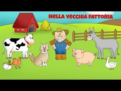 Nella vecchia fattoria con video e testo che scorre for Fattoria immagini da colorare