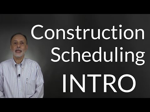 Construction Scheduling Training: An Introduction
