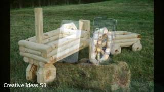 New 50 Log Wood DIY Creative Ideas 2016 - Log wood home ideas Part.1 -newest home decor