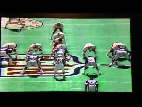 1986 Pro Bowl Marcus Allen throws a TD to Wes Chandler
