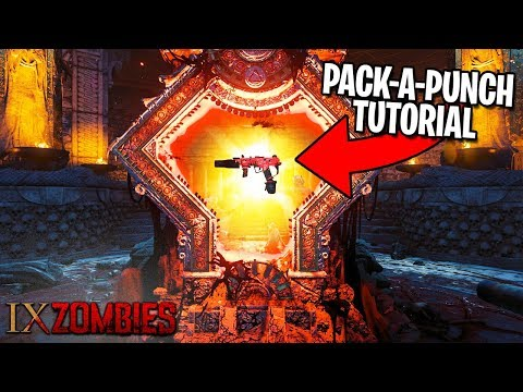 HOW TO PACK A PUNCH on IX - Call of Duty Black Ops 4 Zombies Gameplay Tutorial thumbnail