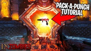 HOW TO PACK A PUNCH on IX - Call of Duty Black Ops 4 Zombies Gameplay Tutorial