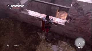 Assassins Creed Brotherhood Lair of Romulus Campagna District Tutorial How to Get To The Door