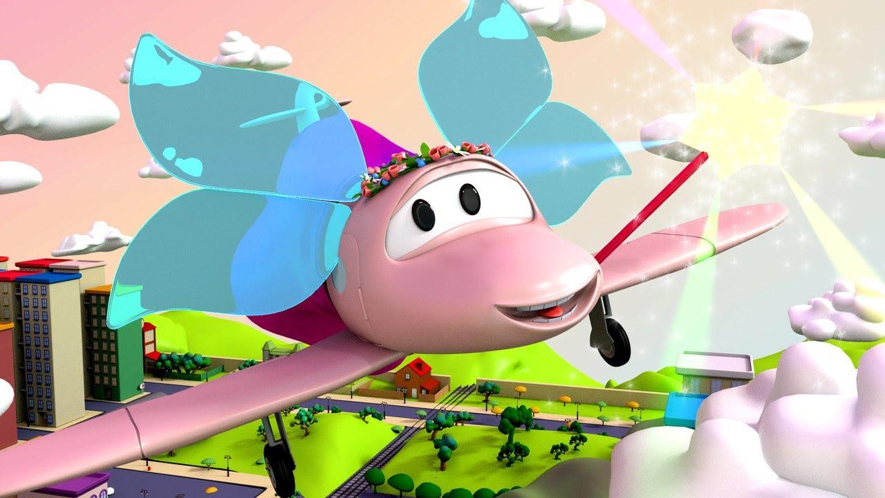 service auto pentru copii -  Zana Penny - Vopsitoria lui Tom în Orasul Masinilor ? Desene copii