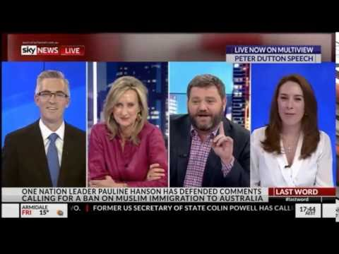 Paul Murray 'won't be invited on Pyne & Marles until 2038' - Sky News