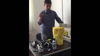 Karcher K2 compact kutu açılımı, araç yıkama makinası