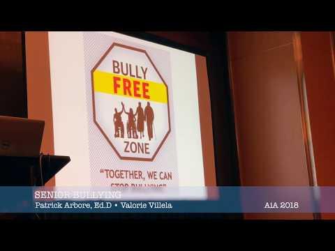 Senior Bullying Elimination Training Aging in America 2018
