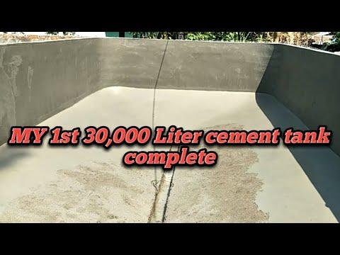 30000 Litre Biofloc  Cement Tank Complete Part 6