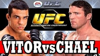 "EA Sports UFC: VITOR BELFORT vs CHAEL SONNEN Ultimate Fighting Championship ""EA UFC PS4 XBOX ONE"""