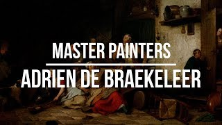 Adrien de Braekeleer (1818-1904) A collection of paintings 4K Ultra HD Silent Slideshow