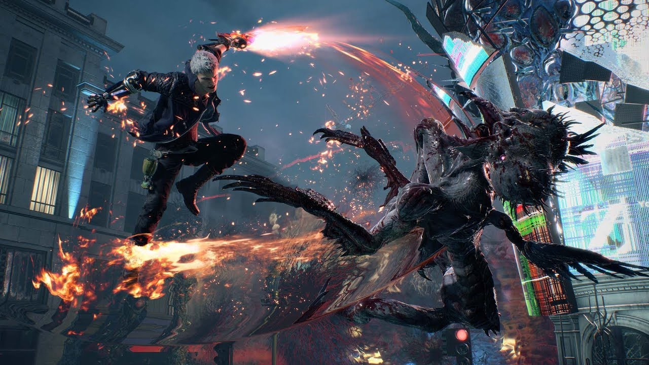 PS4『Devil May Cry 5』預告片