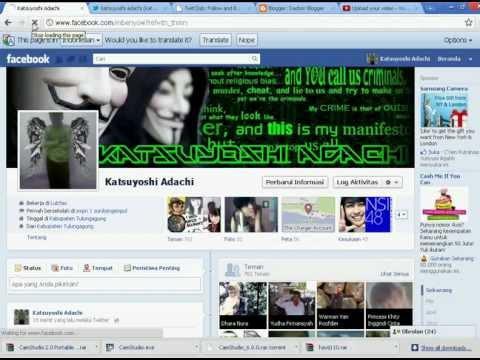 CARA TERMUDAH Menghubungkan Twitter ke Facebook.