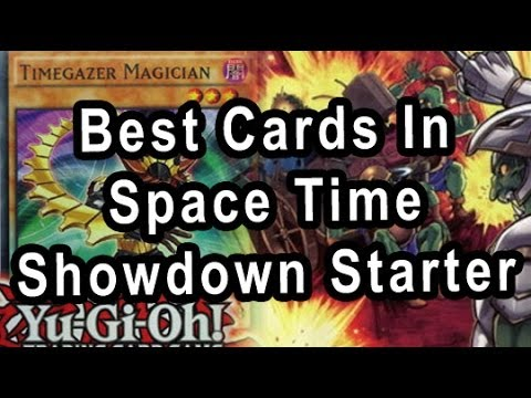 Best Cards In Space Time Showdown Starter Deck!