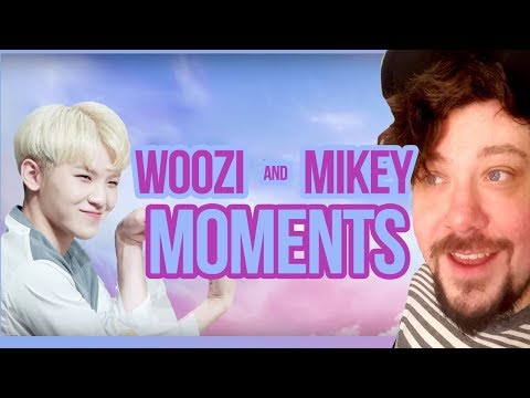 Woozi and Mikey Moments