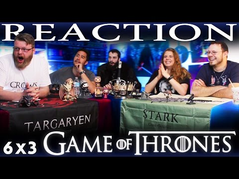 "Game of Thrones 6x3 REACTION!! ""Oathbreaker"""