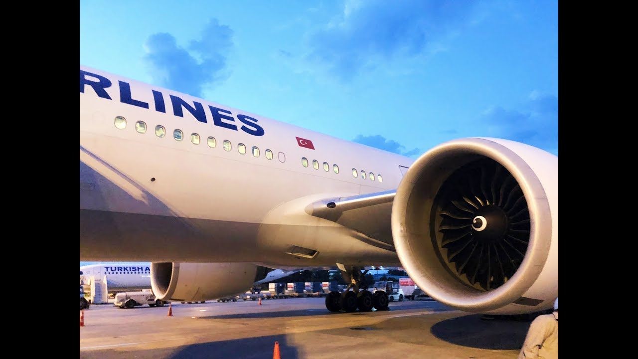 TURKISH AIRLINES | 777-300ER| ECONOMY CLASS | HONG KONG ...