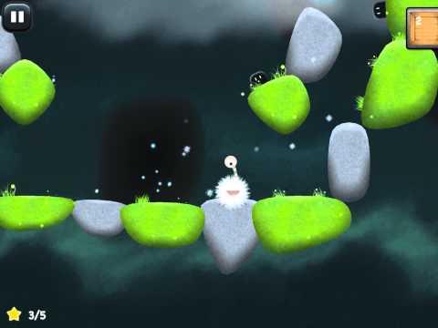 Tupsu- The Litte Furry Monster Walkthrough Level 1-5