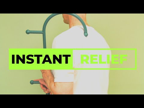 Upper Trap Release For Instant Neck Pain Relief