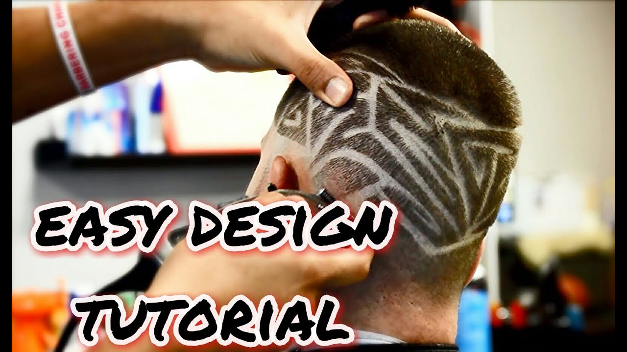how to do freestyle design haircut tips youtube