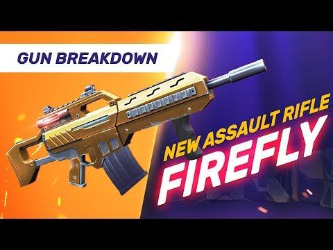 New Assault Rifle - Firefly - Guns of Boom