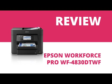 Epson WorkForce Pro WF-4830DTWF A4 Colour Multifunction Inkjet Printer