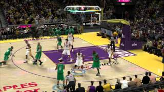 NBA 2K10 - Lakers vs Celtics NBA Finals 2010 Rosters