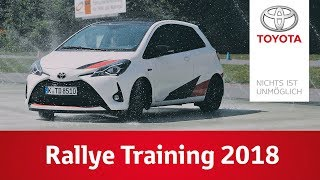 Rallye Training 2018 | TOYOTA GAZOO Racing
