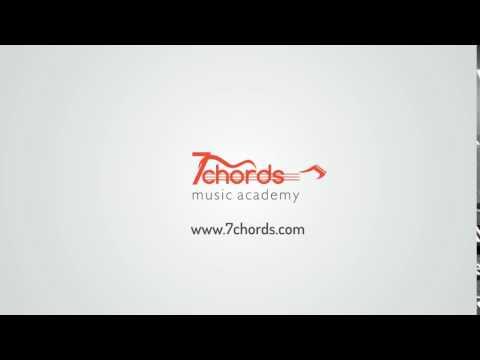 7 Chords Music Academy Logo animation
