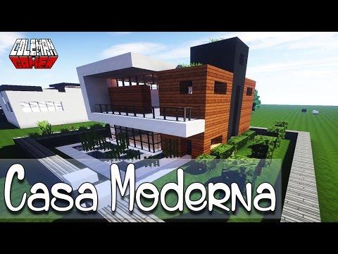 Minecraft como hacer una casa moderna asurekazani for Como hacer una casa clasica en minecraft