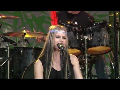Avril Lavigne - My Happy Ending @ The Tonight Show Jay Leno 21/06/2004 HD